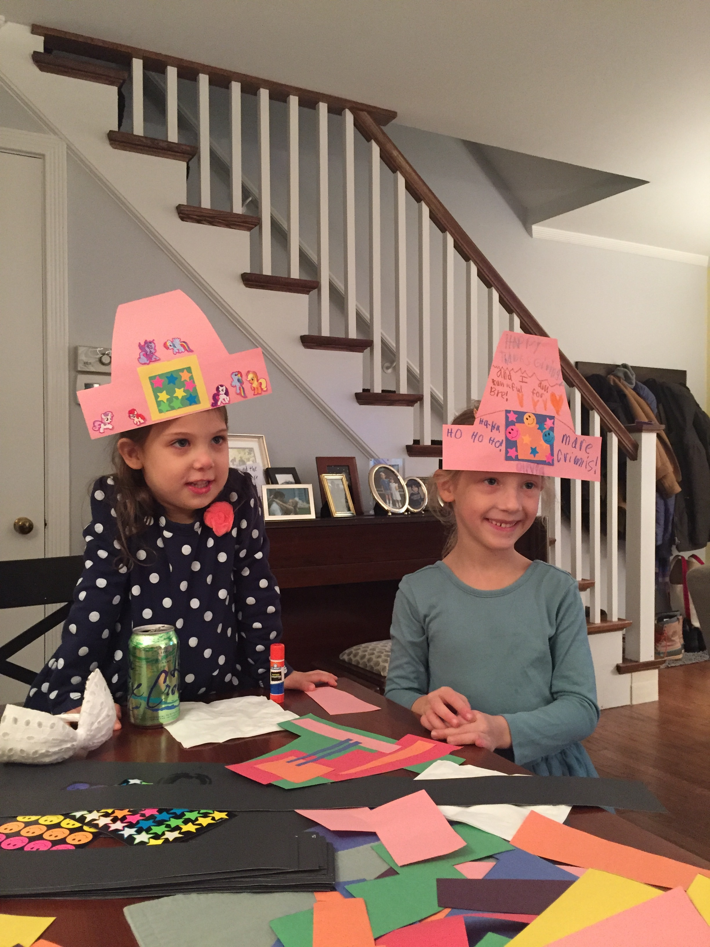 Completed Pilgrim hats