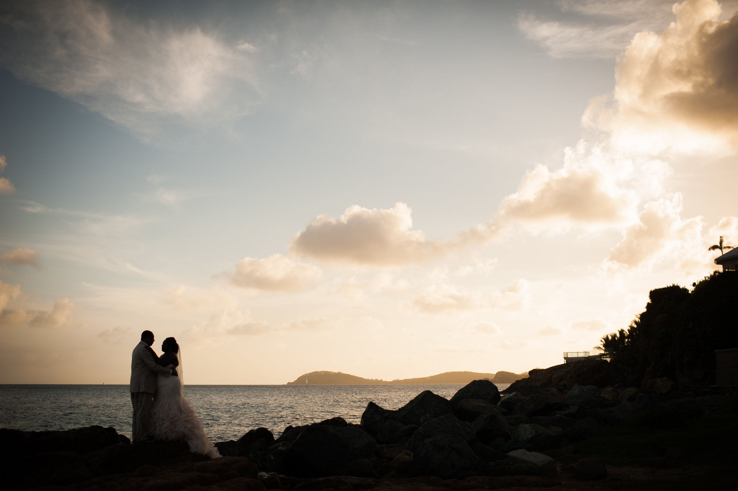 monique & donald // st. thomas, usvi