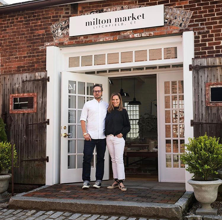 Martha & Gerardo , owners of Milton Market