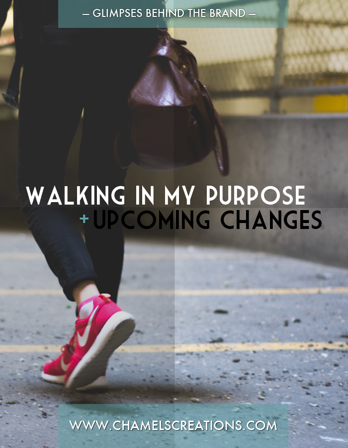 You feel that stirring in your spirit...it's time to walk in your purpose | Faith journey survey | www.chamelevans.com
