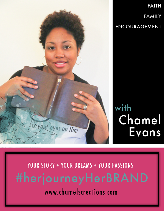 Stand in your story + dreams + passions. It's your journey and it's your brand. | www.chamelevans.com