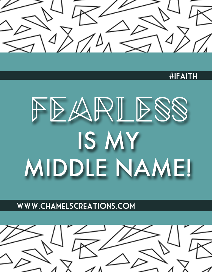 Walk into your purpose and destiny - you are fearless! |free  ifaith phone wallpaper by chamel evans