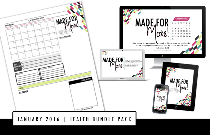 #iFaith Bundle Pack - exclusive resource for #FJCOMMUNITY -VIPs | Be encouraged and empowered to be your best - God's Best! | www.chamelevans.com