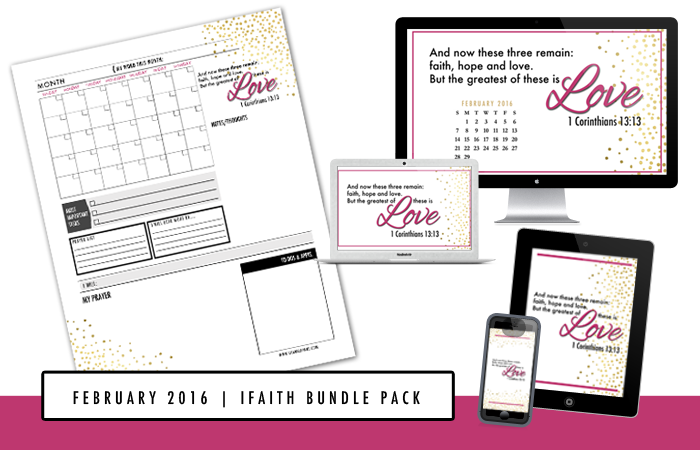 Free iFaith Bundle Pack by Chamel Evans | Join #FJCommunity VIPs for exclusive resources | www.chamelevans.com