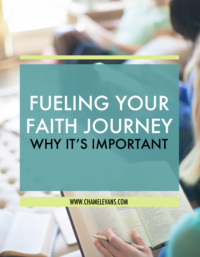Fueling your faith journey is key to cultivating divine seeds in your life!  | www.chamelevans.com
