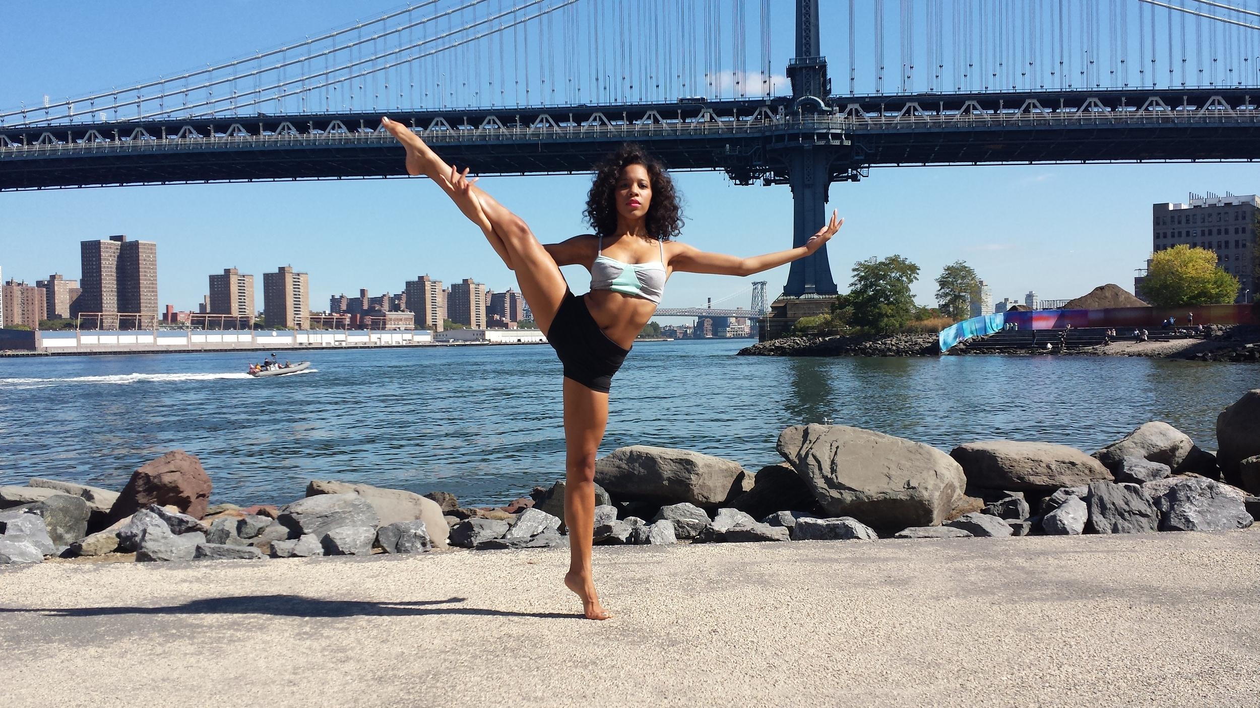 Nikosa Majid  (Belizean/African American)  Professional Freelance Dancer  Brooklyn, NY