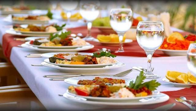 Delicious food at Bargara Central