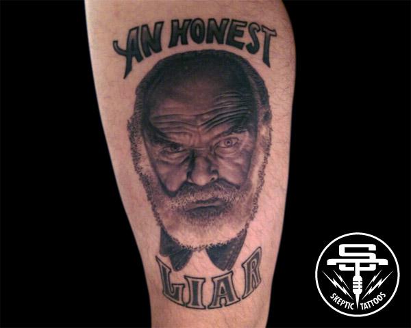 Collector: Steven Powers, Artist: Abraham @ Original Tattoo, San Pedro, CA