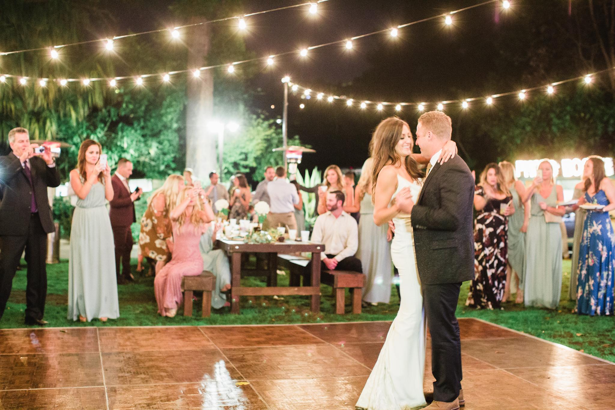 First dance as husband + wife <3