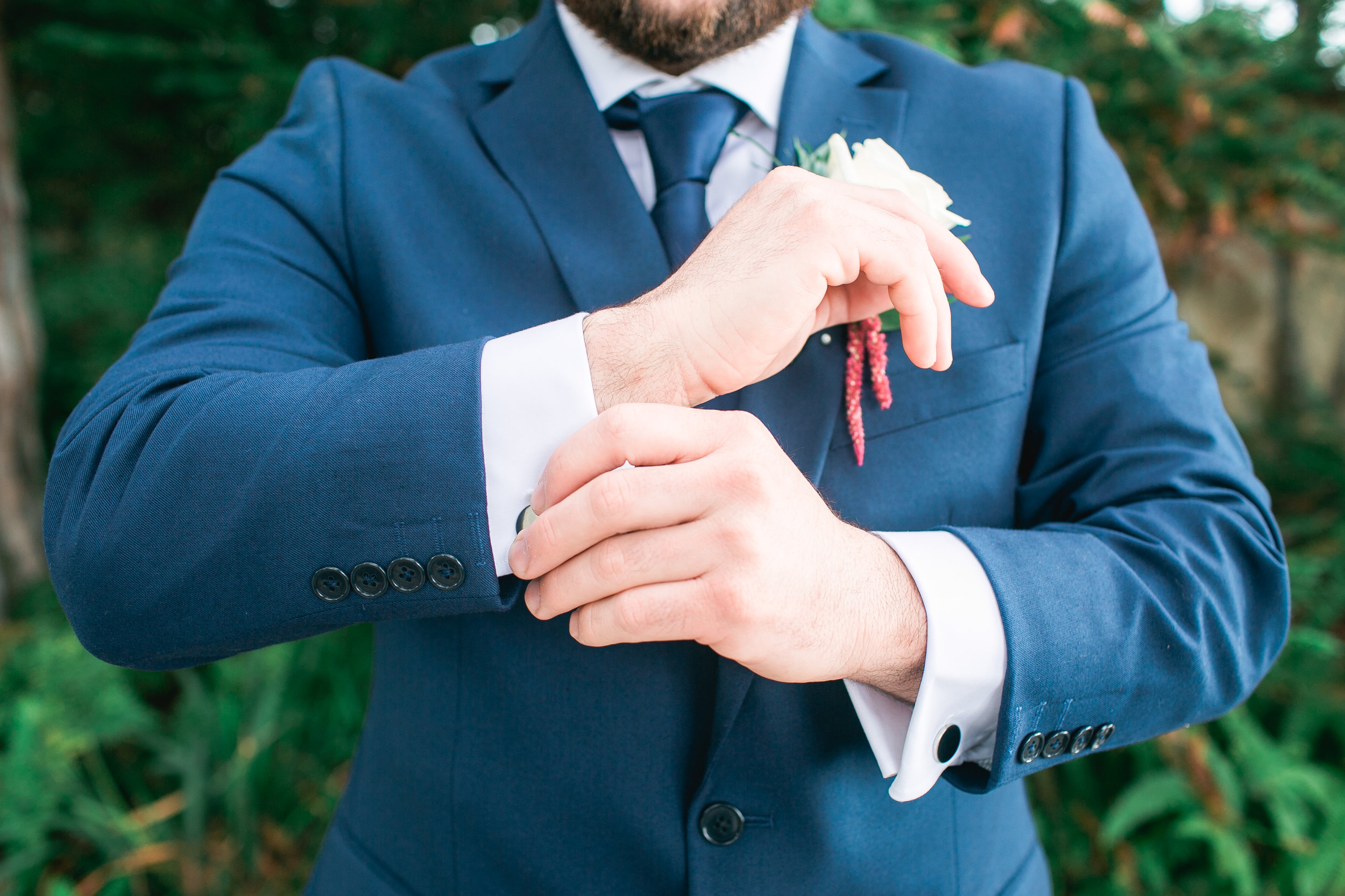 And the groom? Equally as beautiful.
