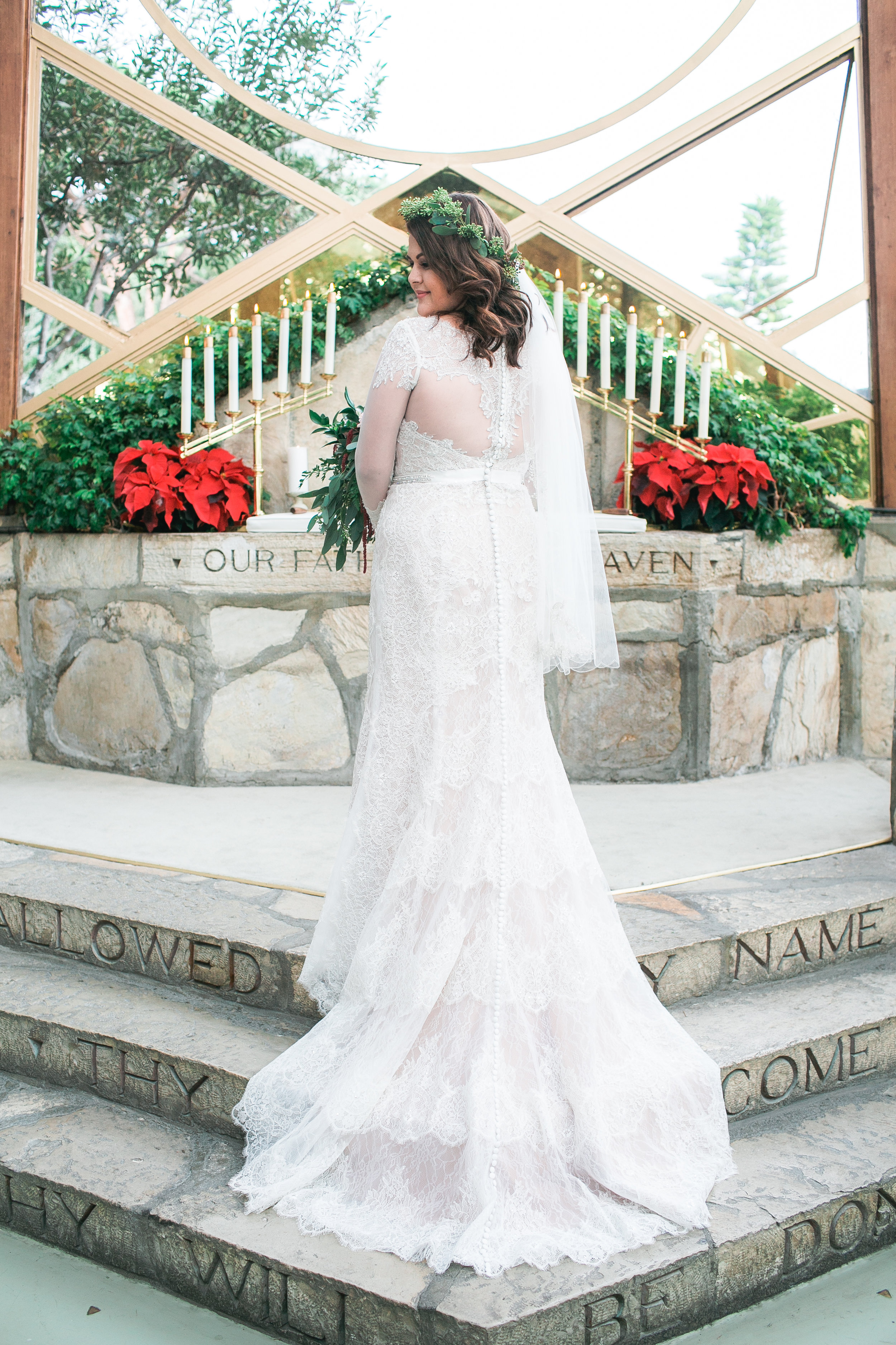 And we had to be sure to capture the back of this gorgeous dress.
