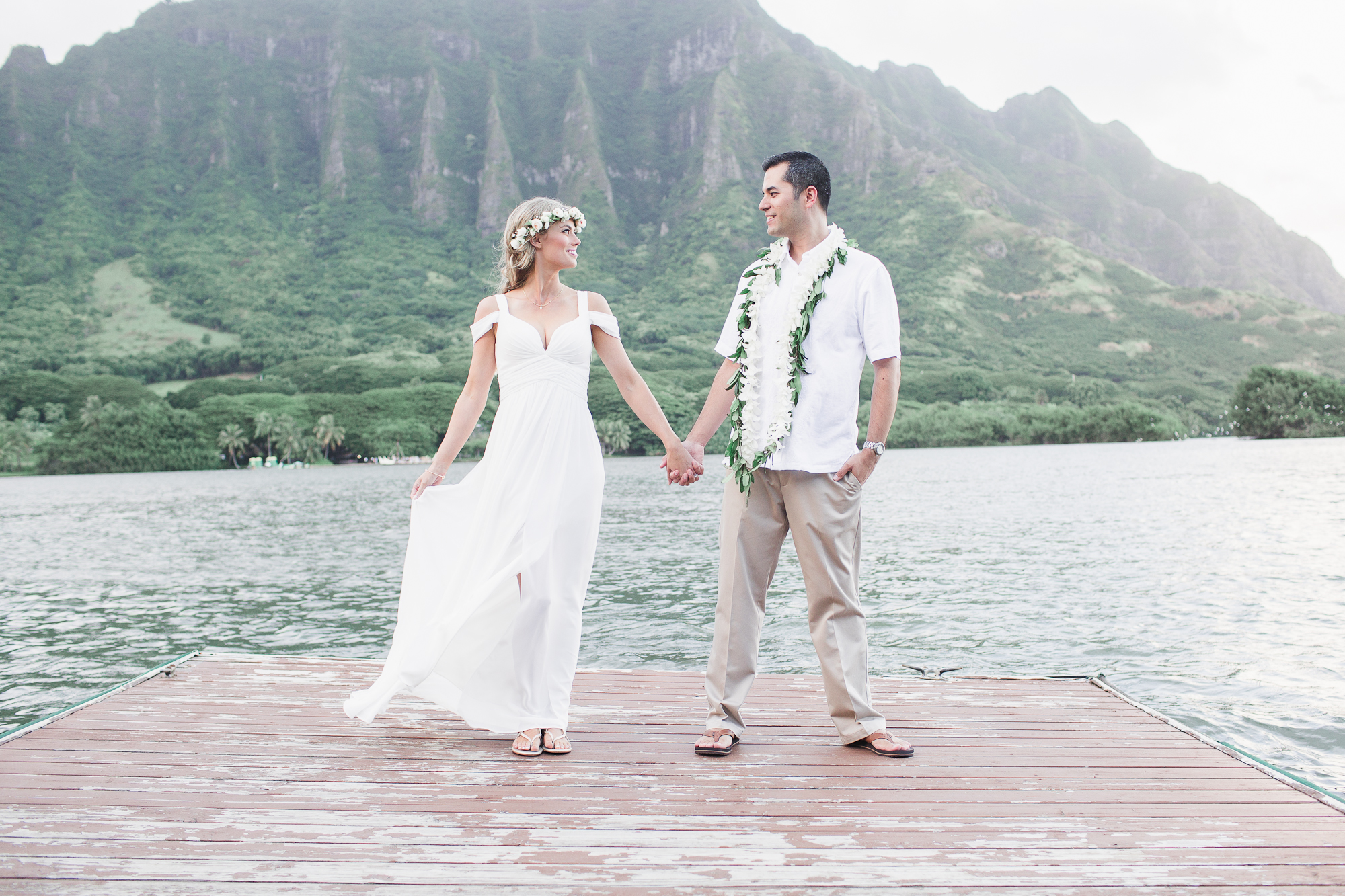 Another wedding that I hold very close and dear to my heart is Lucy + Charlie's wedding. Their wedding was held at Kuloa Ranch's Secret Moli'i Island and everything about it (and them) was perfect.