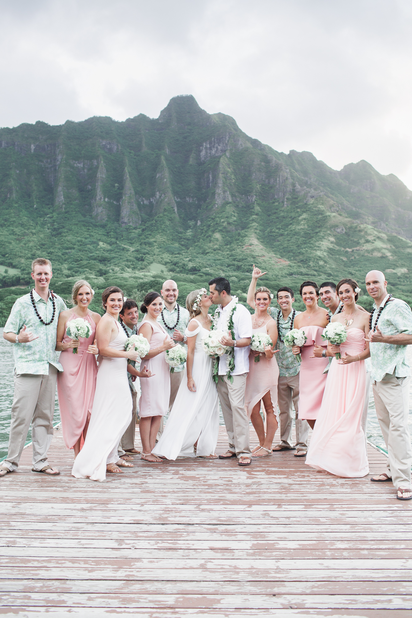 Of course, while we shot this destination wedding, my husband and I took FULL advantage of Hawaii and took in all that the beautiful aina had to offer.