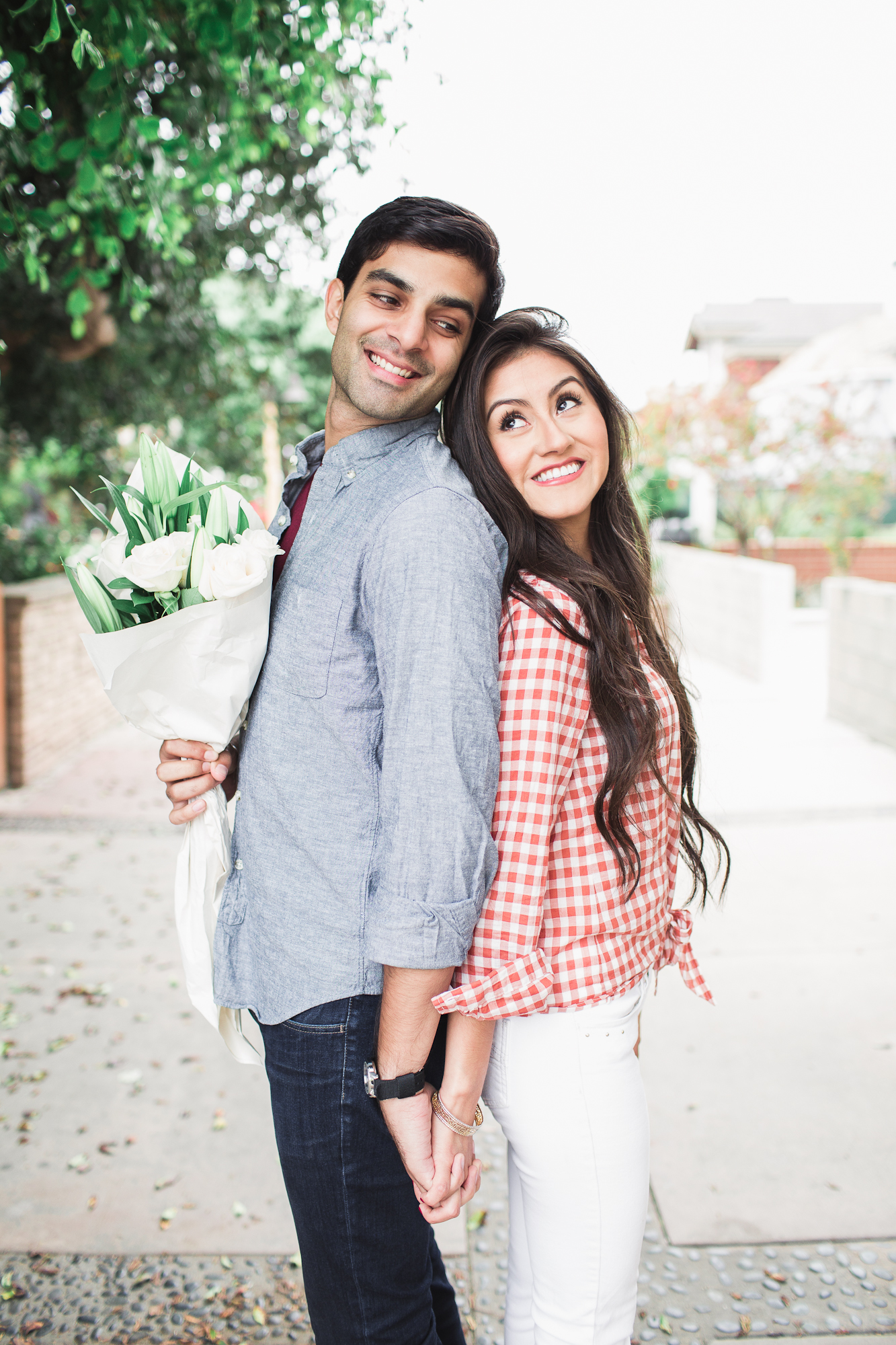 Flor + Umair's engagement shoot. AH, I was and still am so obsessed w/ these two. The second you meet them, you understand why they were meant for each other.