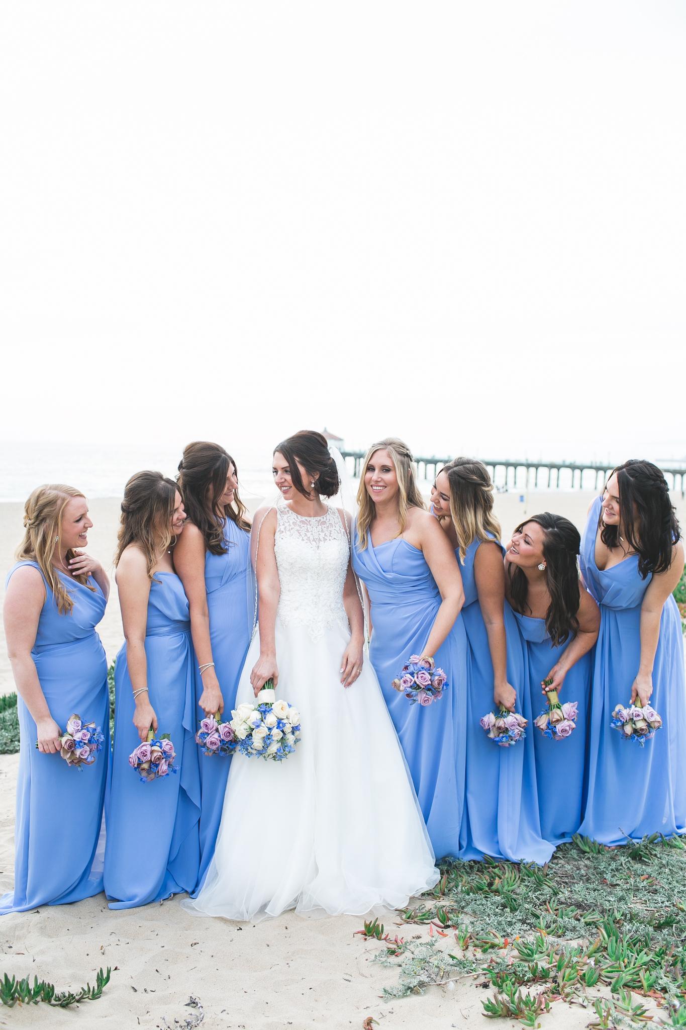 The bride's gals