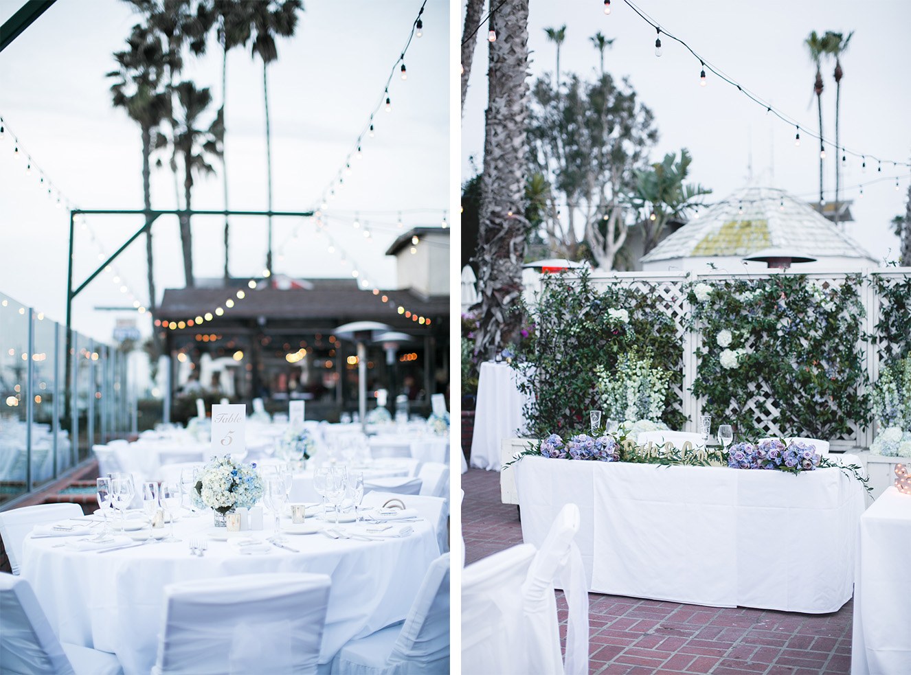 The market hanging lights are so beautiful to capture in photos. And look how cute their sweet heart table was!