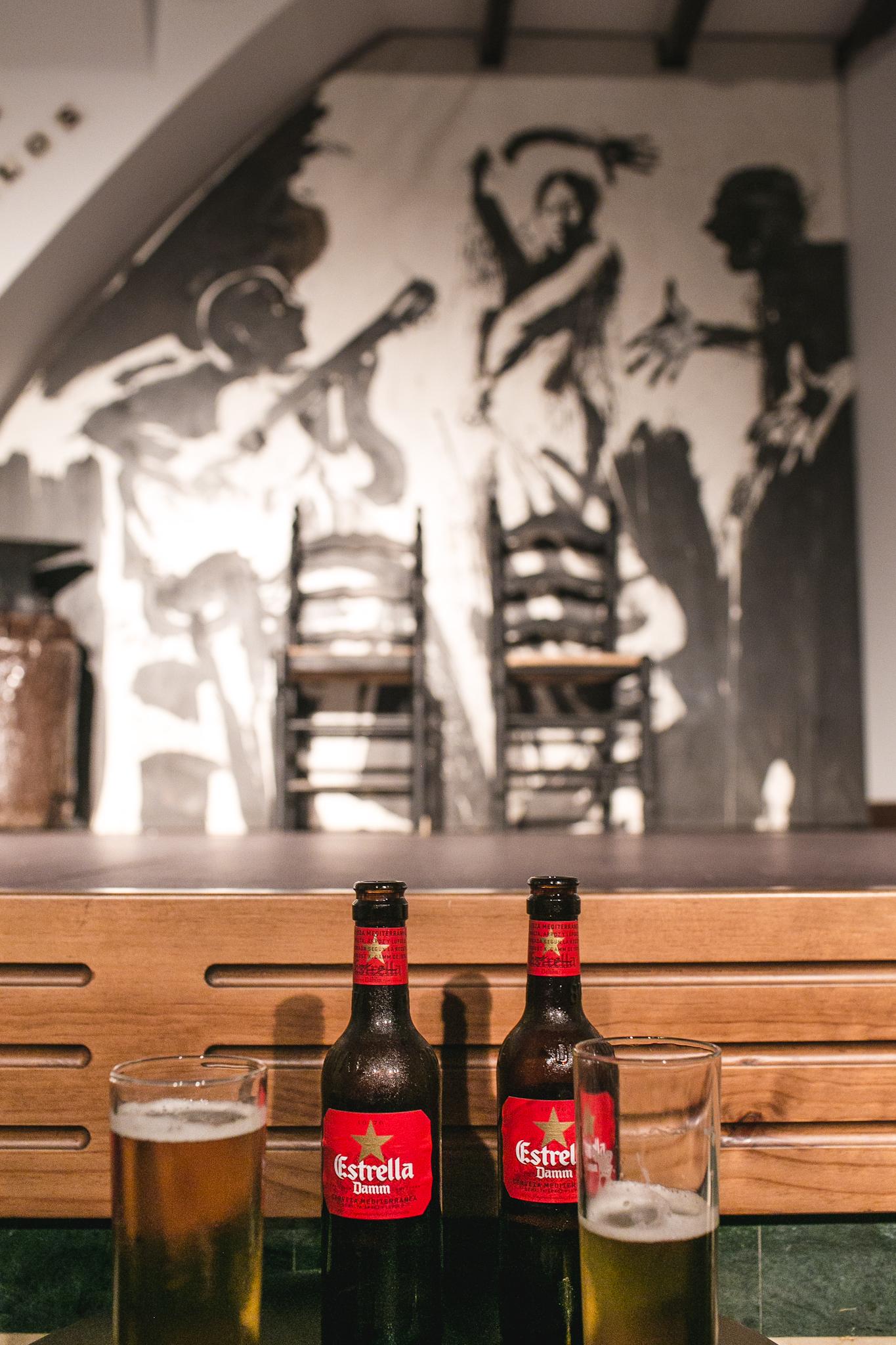 Beer + Flamenco  woot woot!