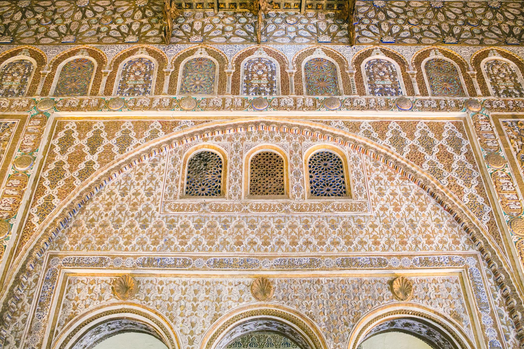 Interior of Real Alcazar palace