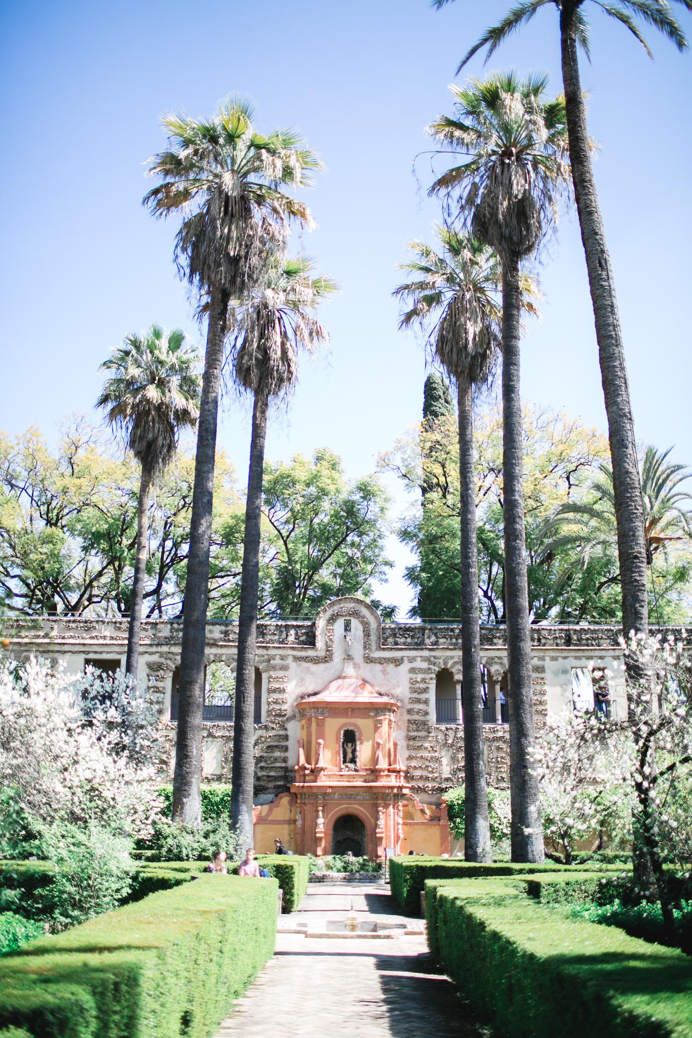 Real Alcazar grounds