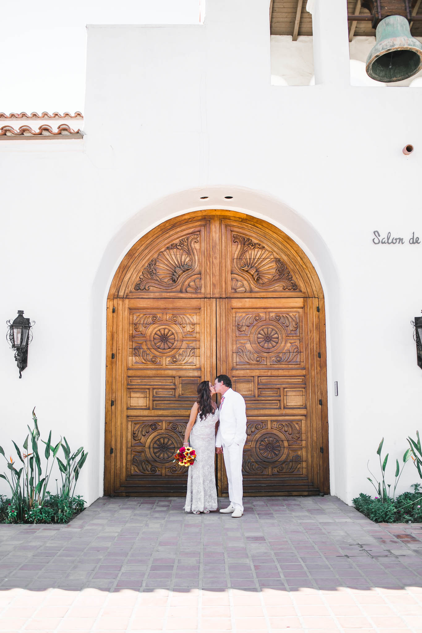 Loved these beautifully carved large wooden doors!