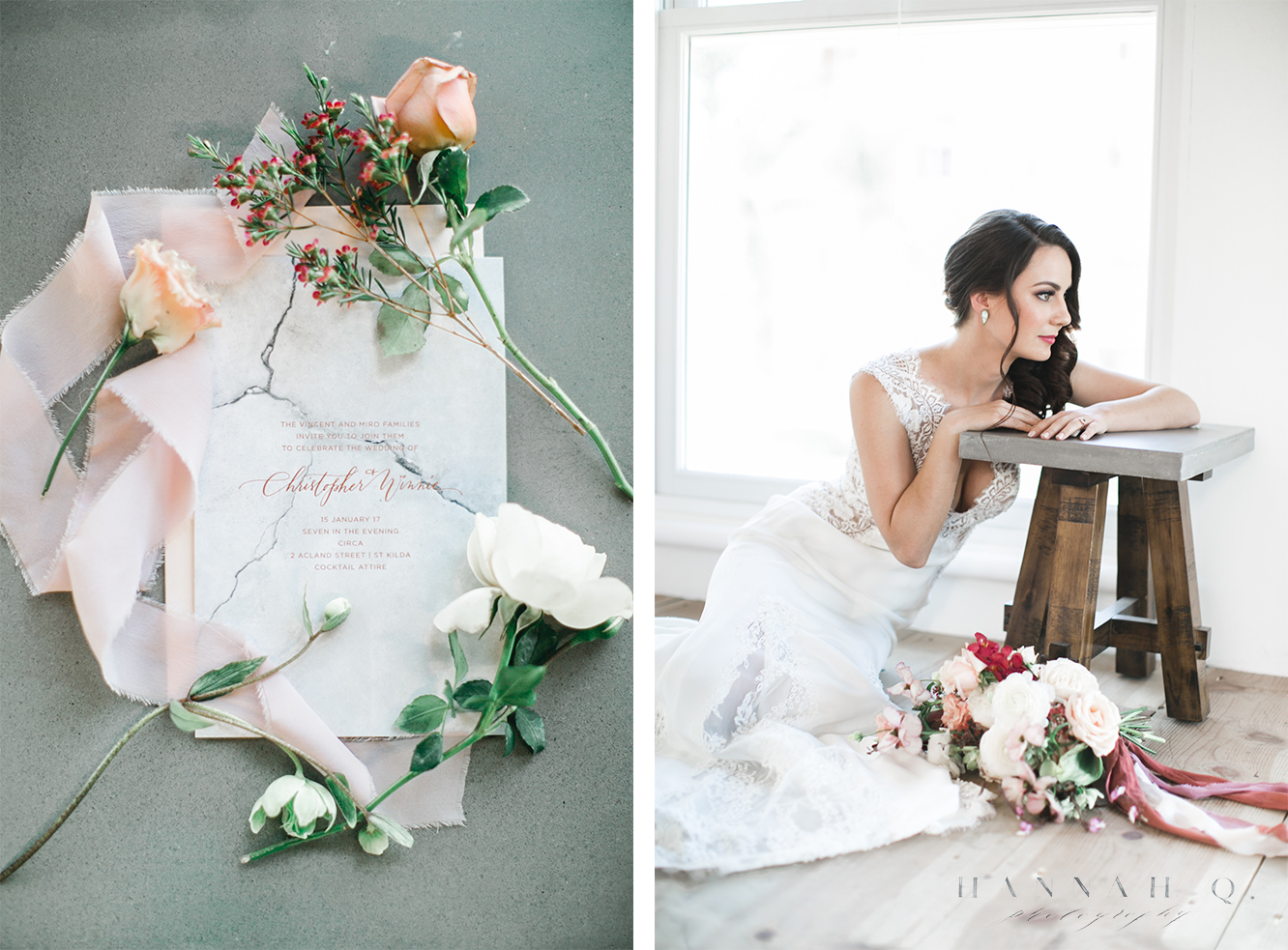 This year I worked on multiple collaborations with fellow wedding creatives and it was possibly the most fun I've had all year.