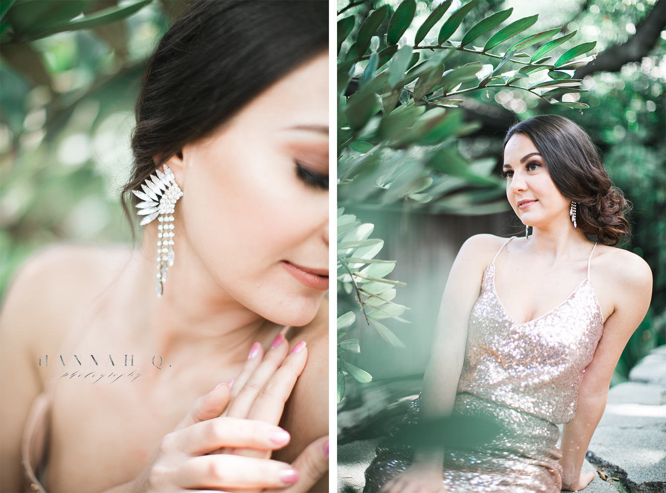 Loved playing with greenery in photos this year and adding the extra bokeh blur.