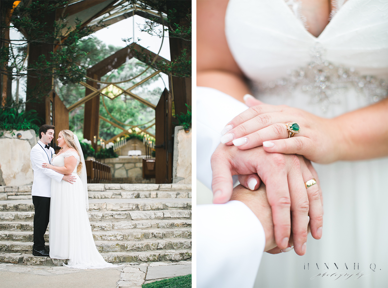 I had my fair share of Wayfarer Chapel wedding's this year but no two were ever the same.