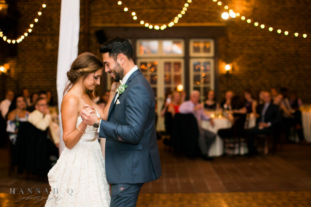 What a beautiful first dance.