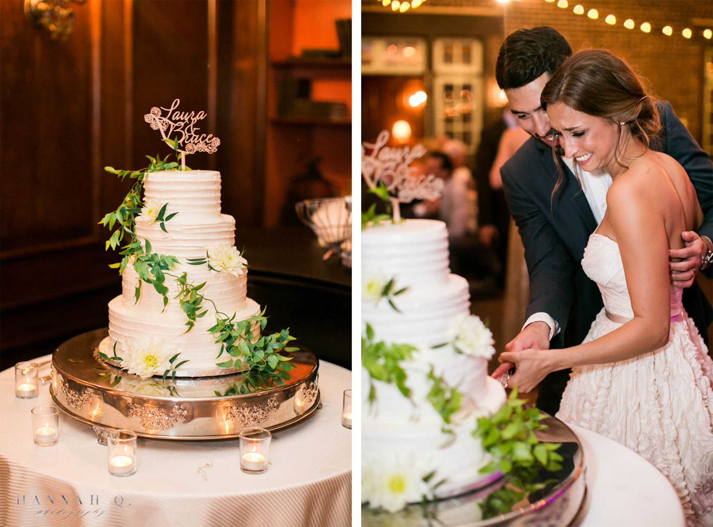 Another one of my favorite parts during the wedding is the cake cutting! It's always nice to see how vicious or kind they are to one another.