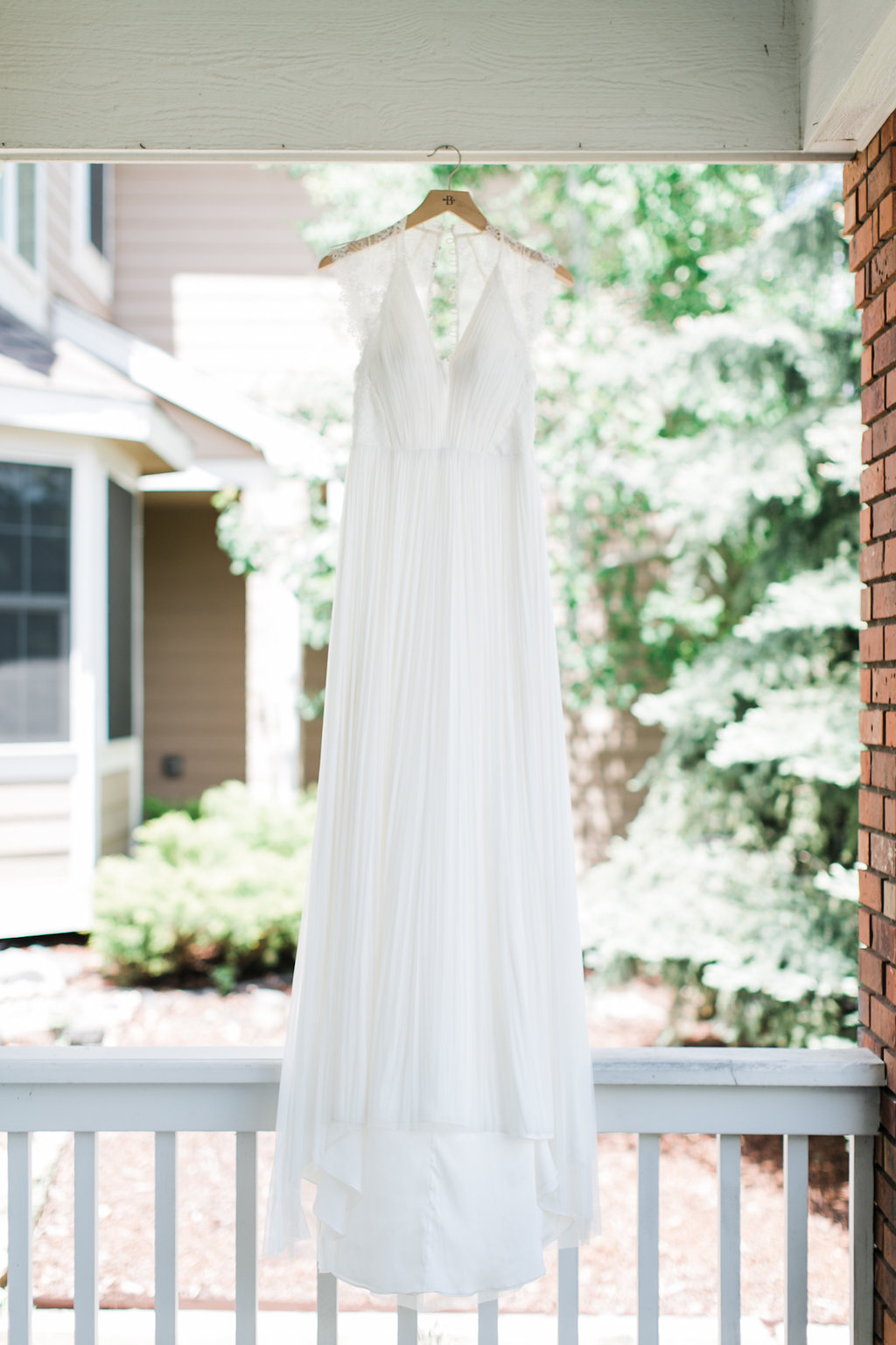 You can never go wrong with a  BHLDN wedding gown.
