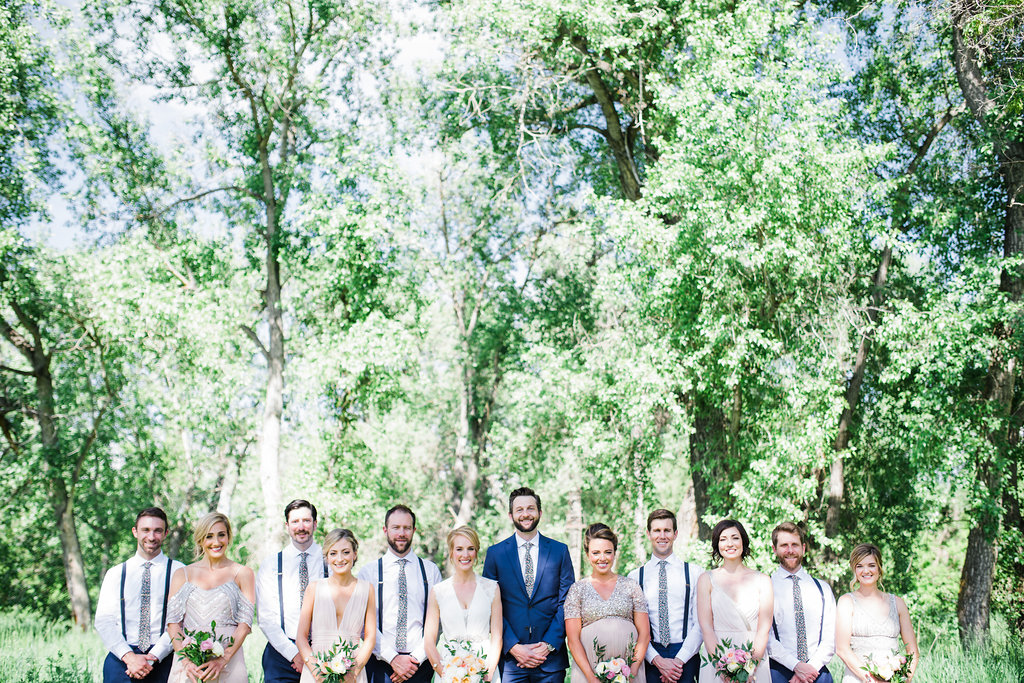 I had the honor of capturing the sweetest bridal party!