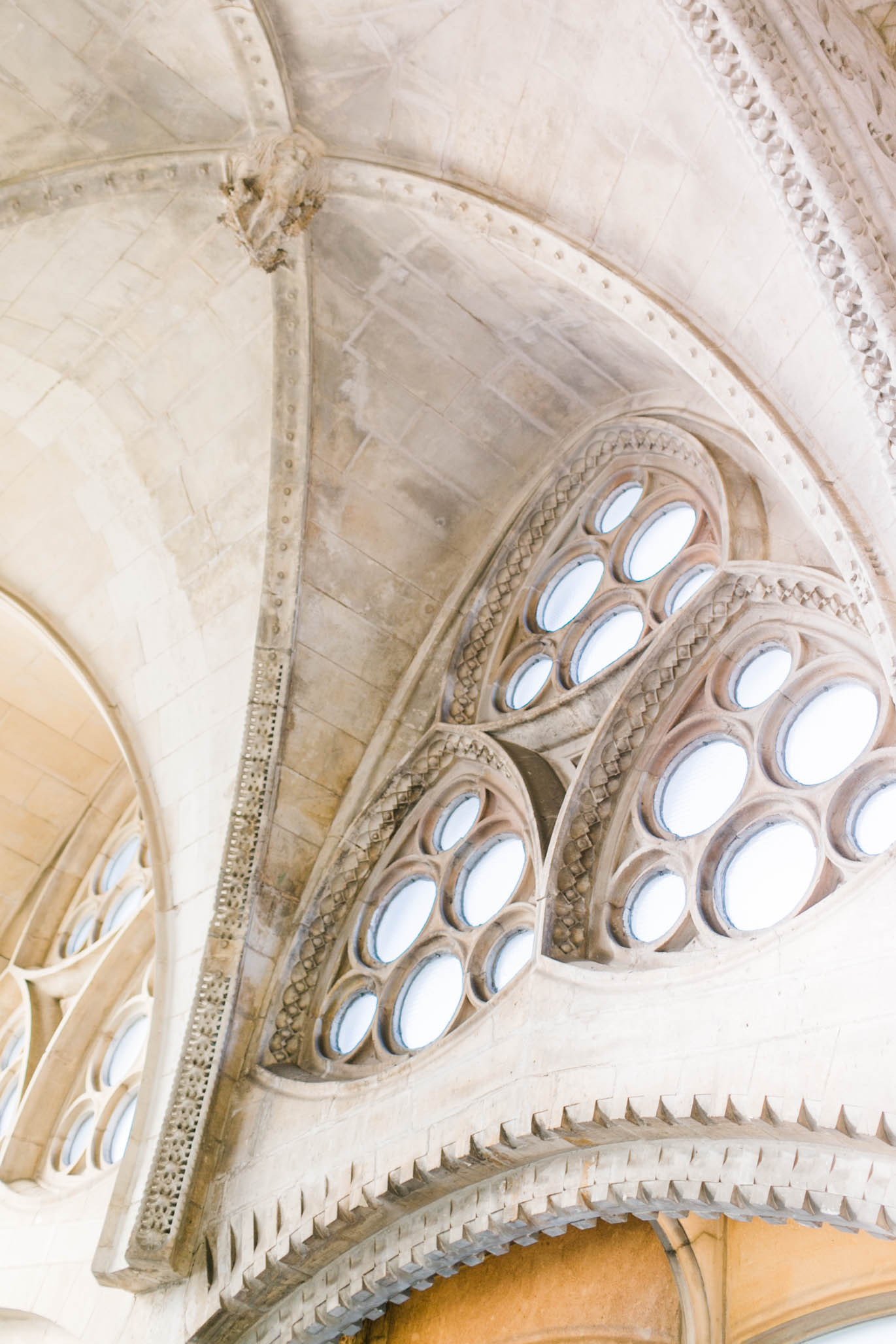 Just a few details of the interior space of Sagrada Familia.