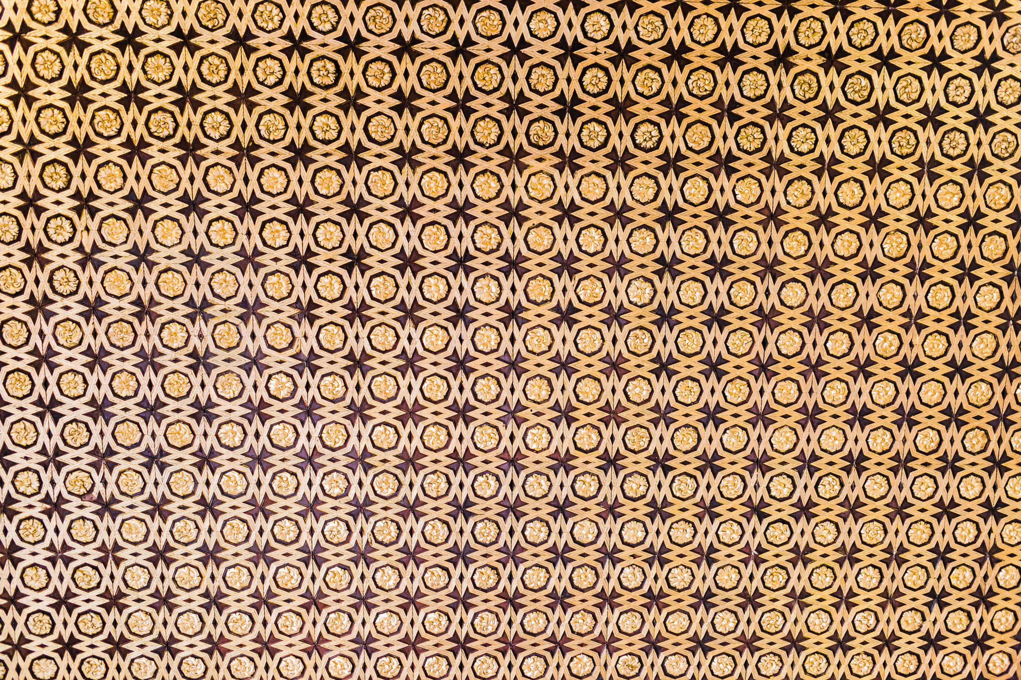 Every ceiling in the palace looked something like this.   Unbelievable.