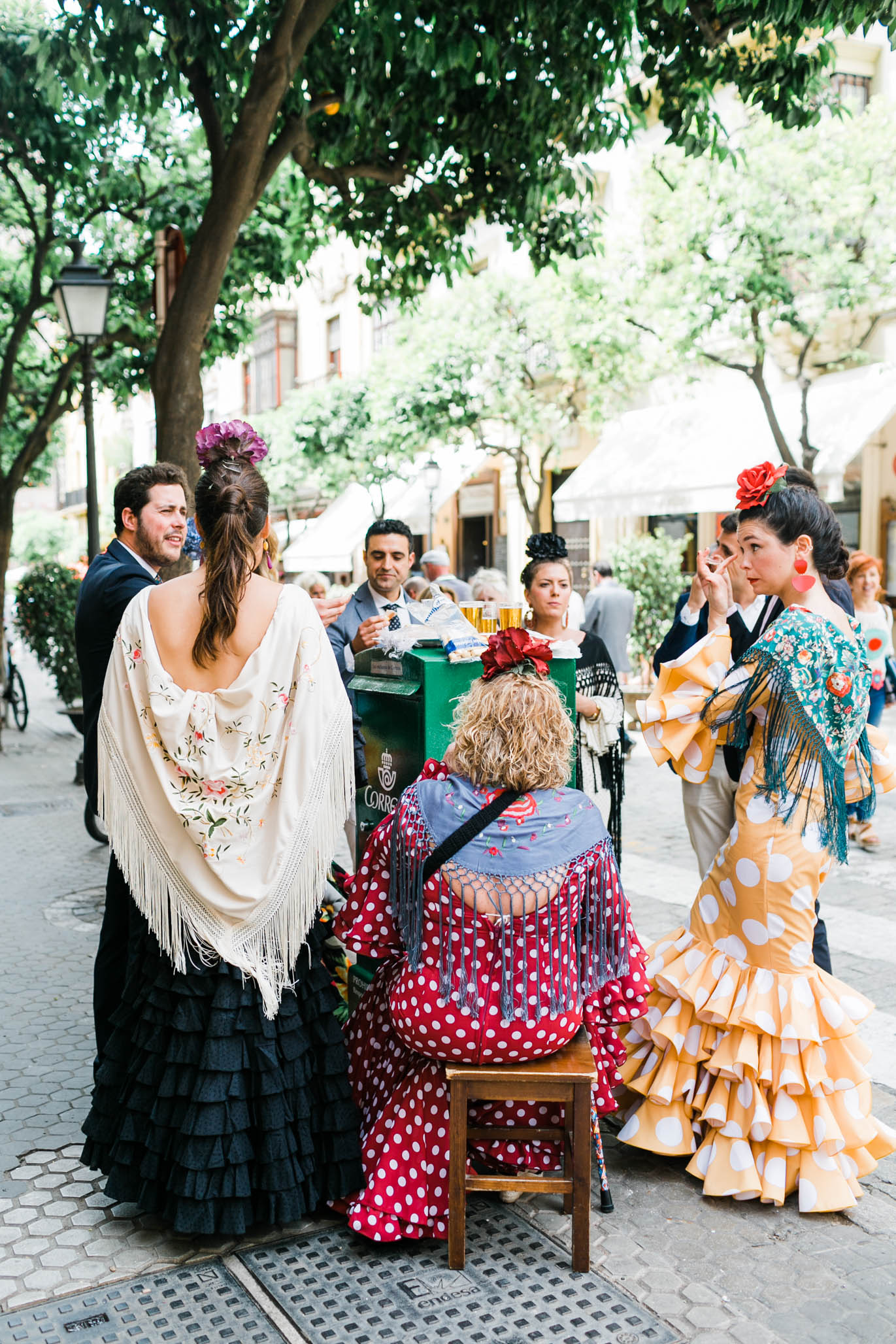 The people of Spain love to eat and drink—my kind of people.