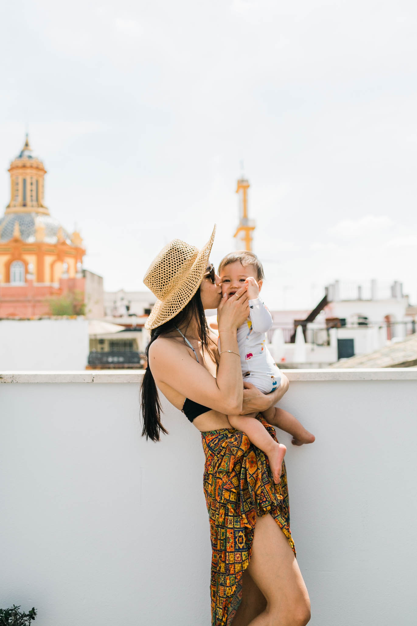 Some of my favorite memories of Sevilla was just hanging out on the deck pool with June and my mama.  We had the perfect view of the old town landscape and just laid there admiring all of it.