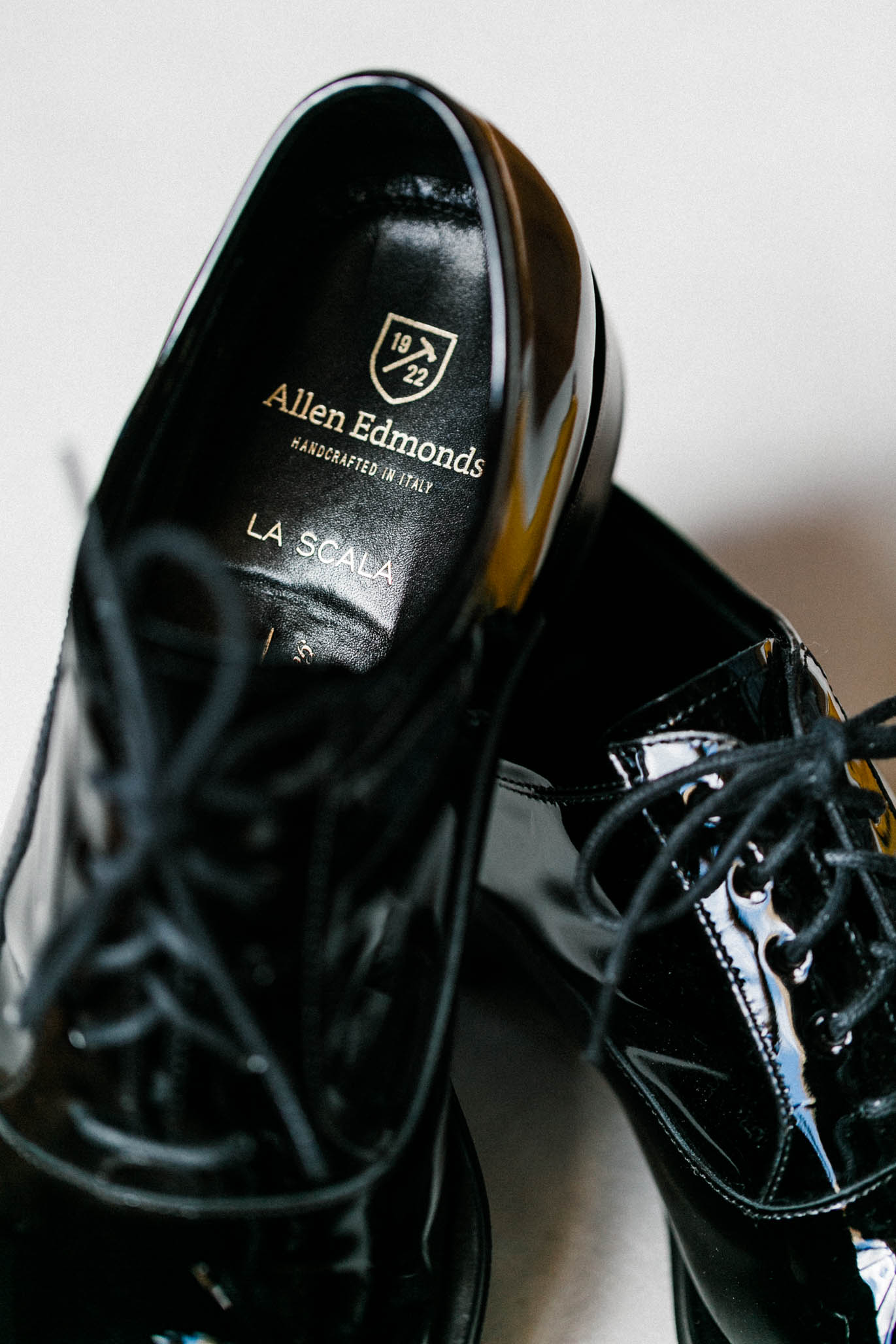 Like I said, a man with excellent taste. He had an affinity for these La Scala Leather Oxfords by  Allen Edmonds.