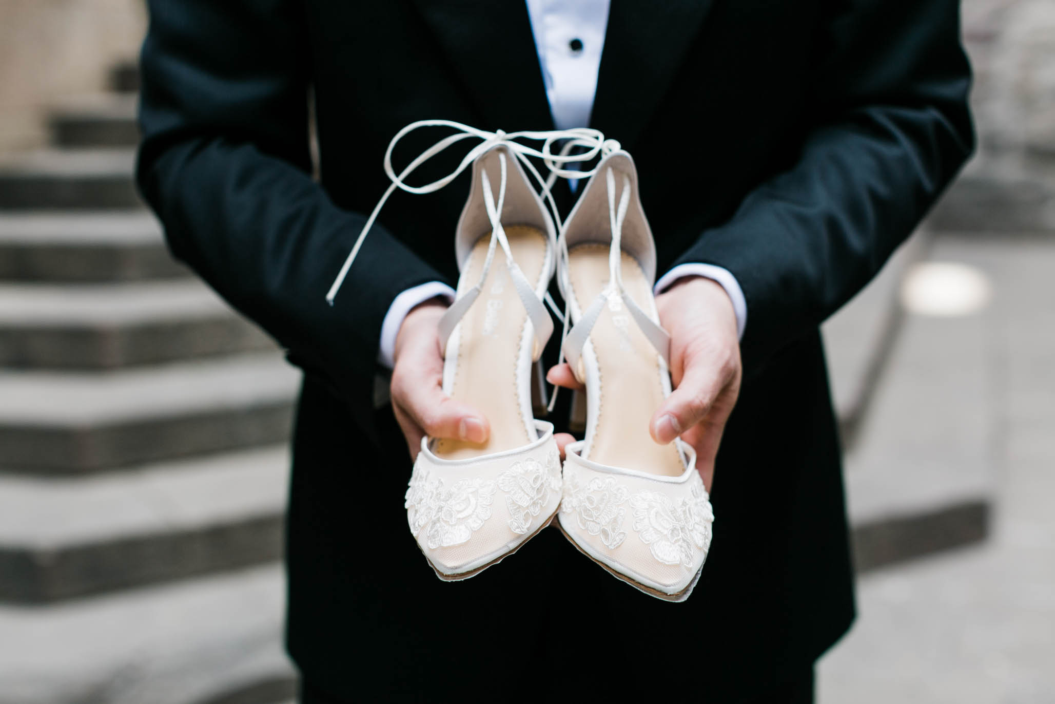 These  Bella Belle  shoes were perfect for the occasion.