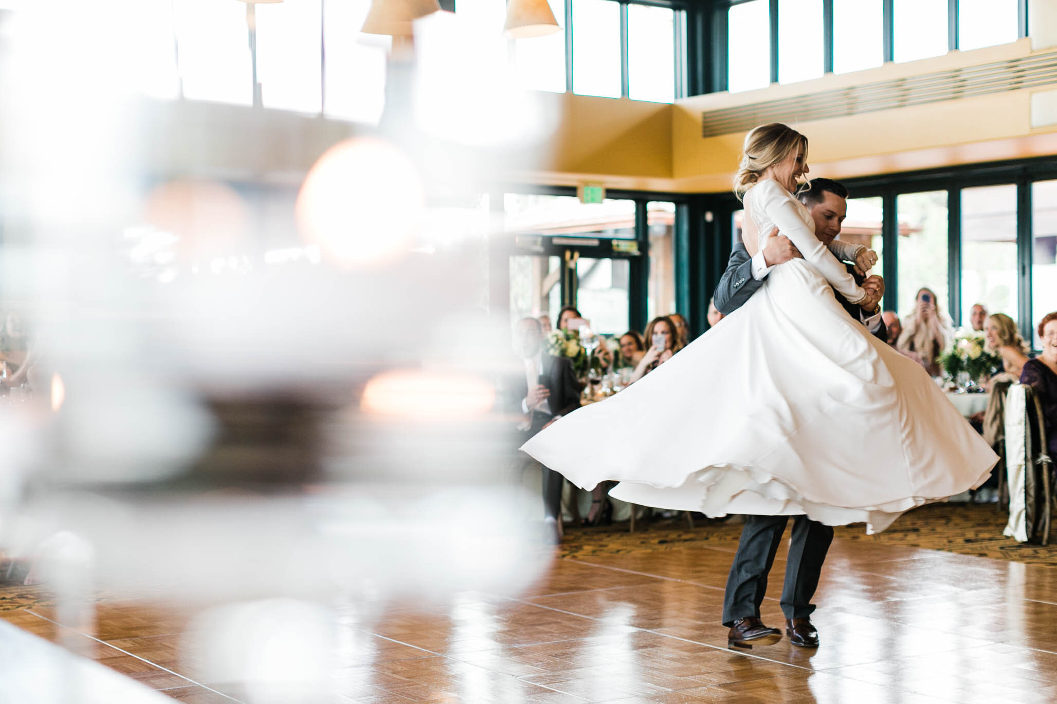 Their first dance captured ALL our hearts.