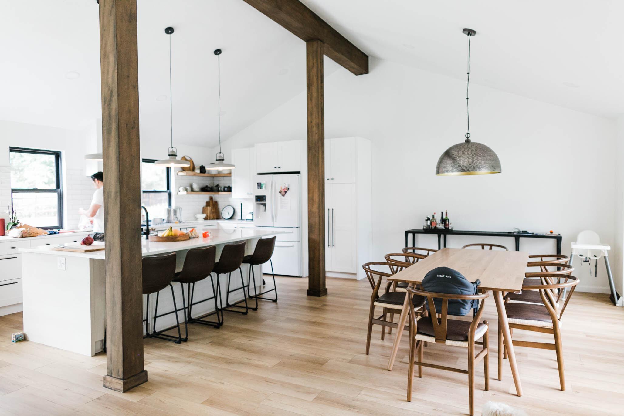 Denver Minimalist home remodel