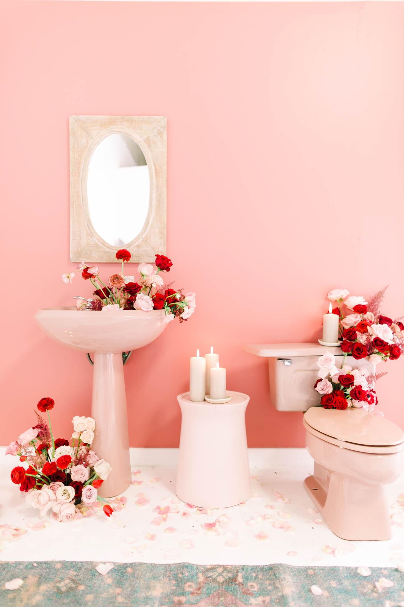 Romantic Red Styled Wedding Photographer