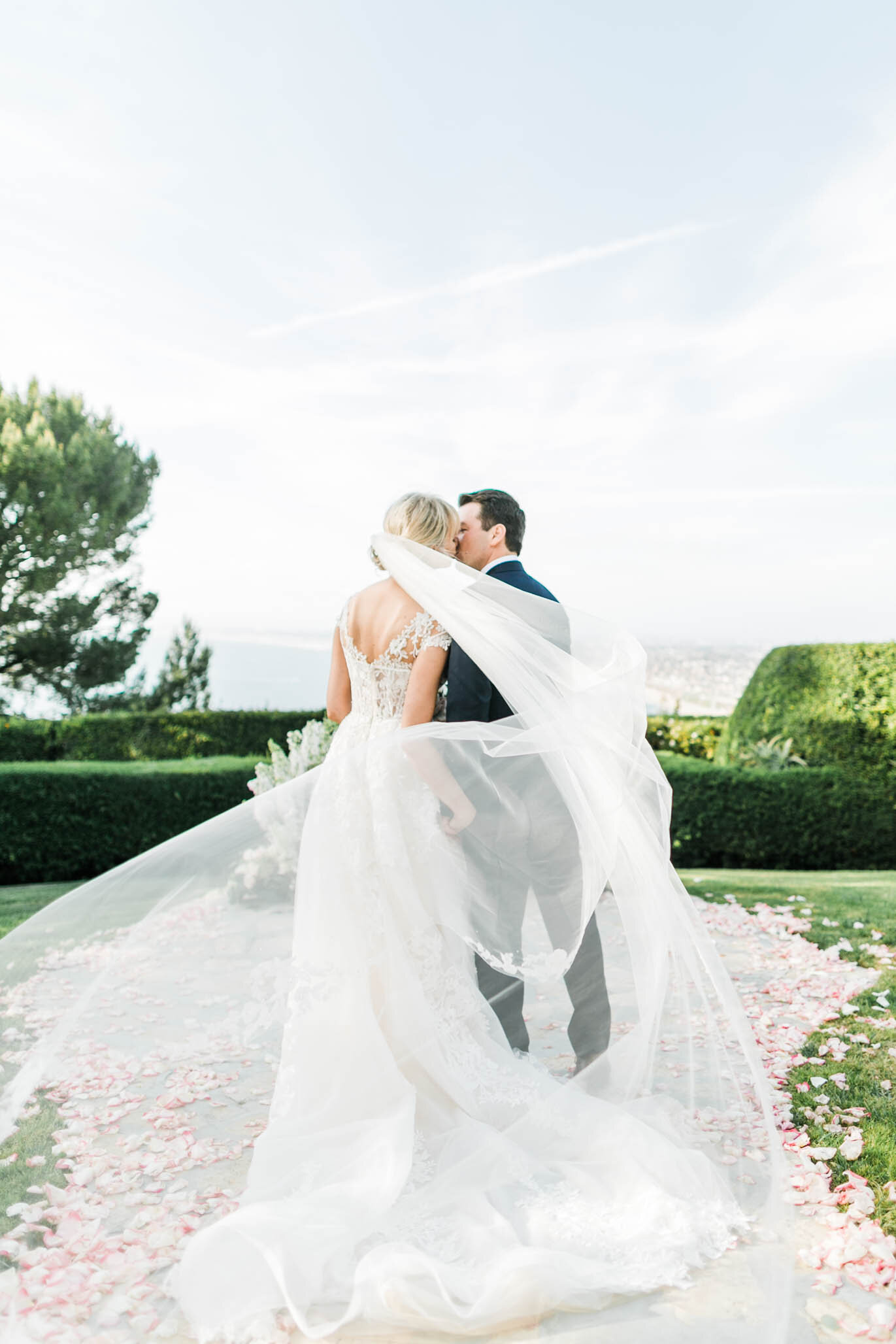 Southern California Cliffside Wedding Photographer