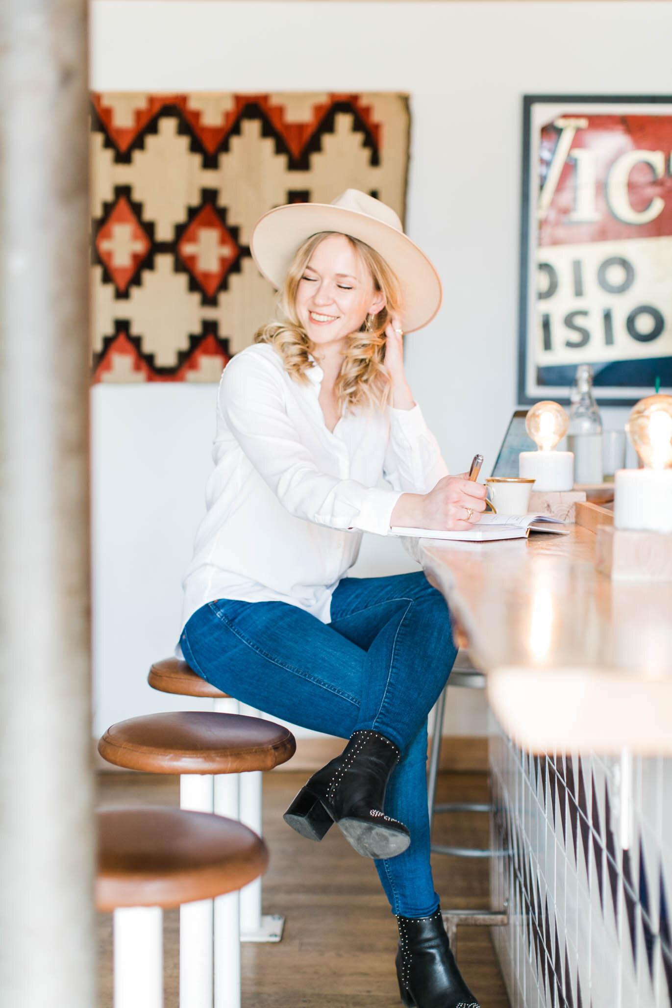 Masha of Coding Blonde: Lifestyle + Tech Blogger
