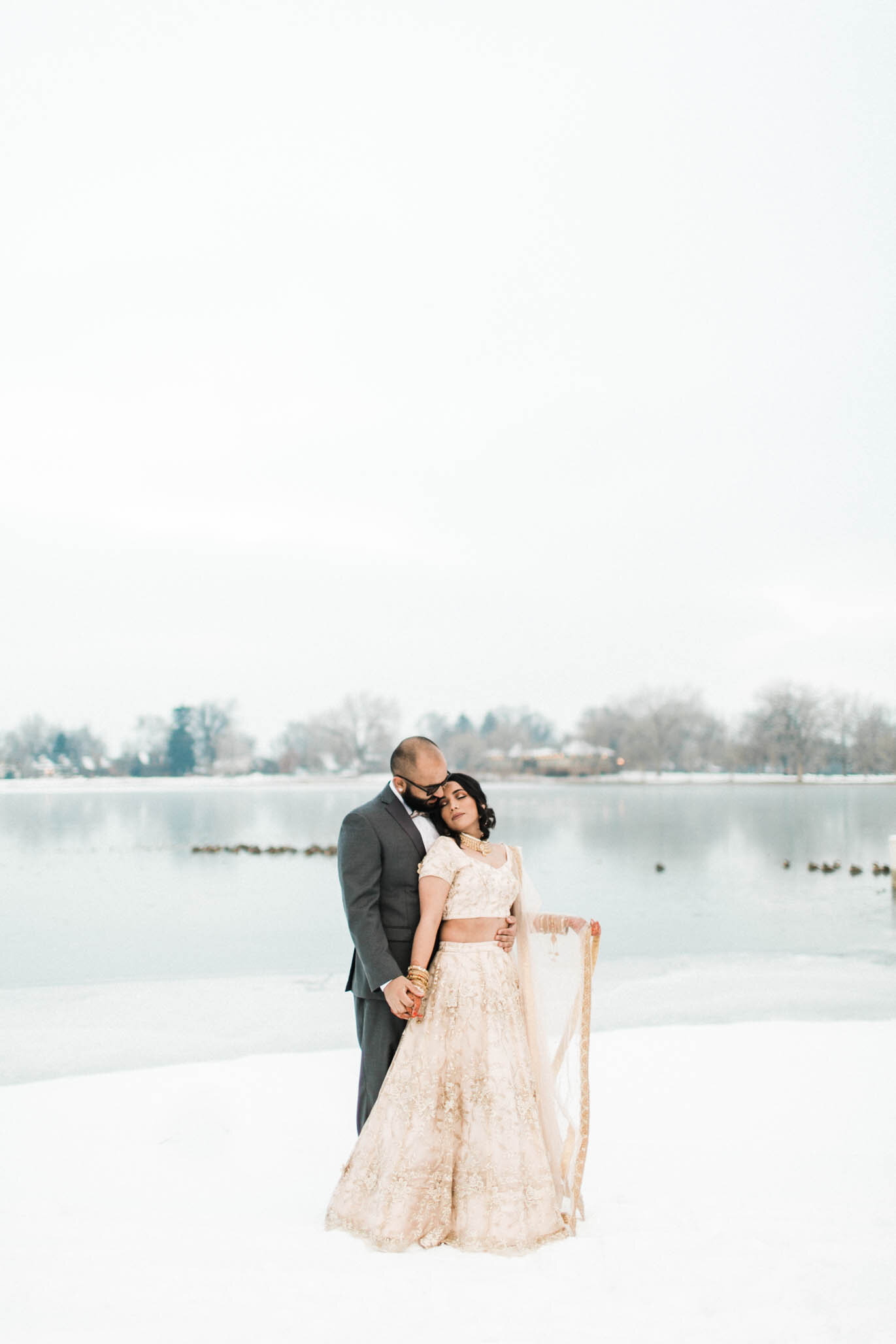 Winter Colorado Wedding Engagement photography