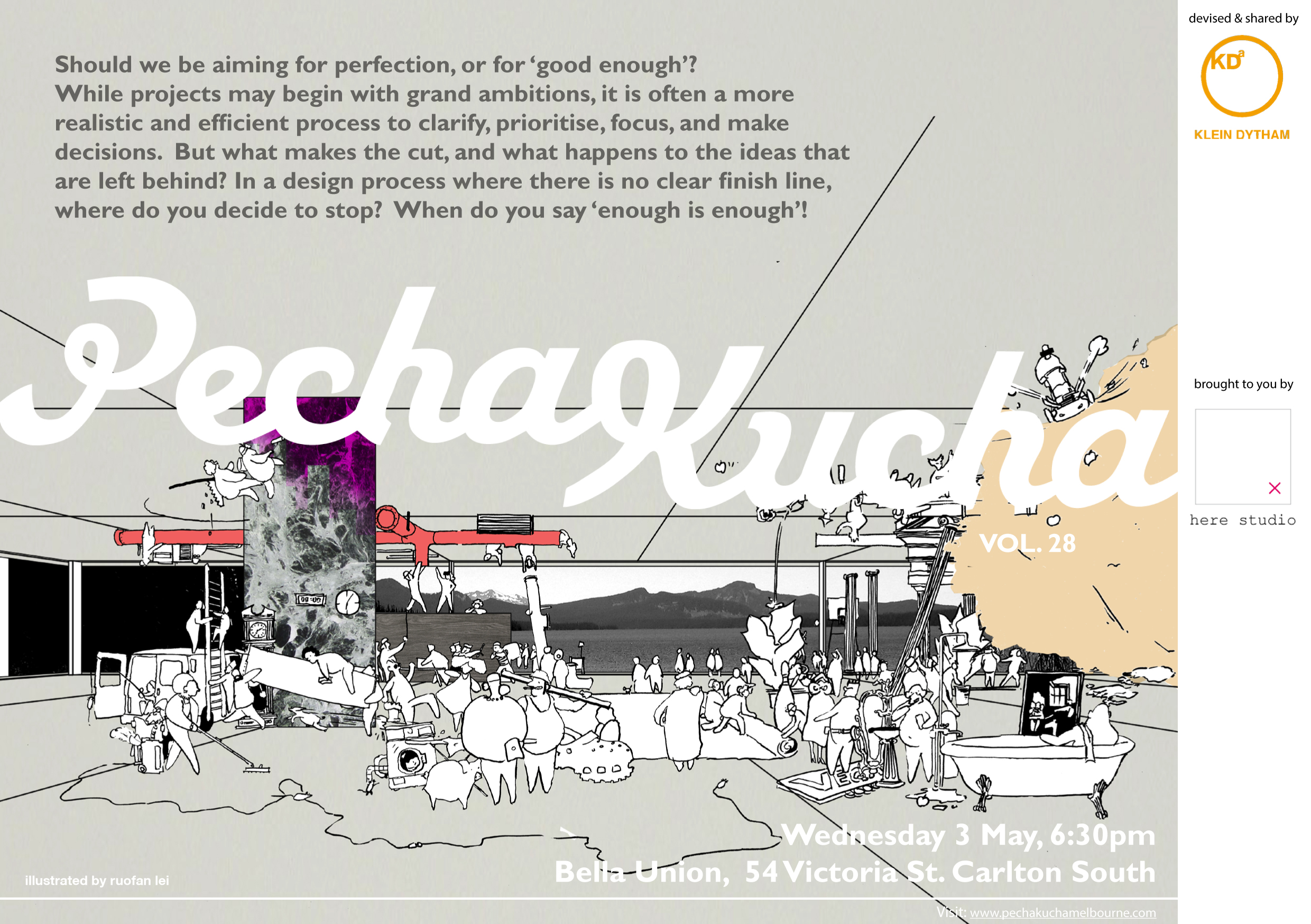 PechaKucha Melbourne Architect and Designers vol28