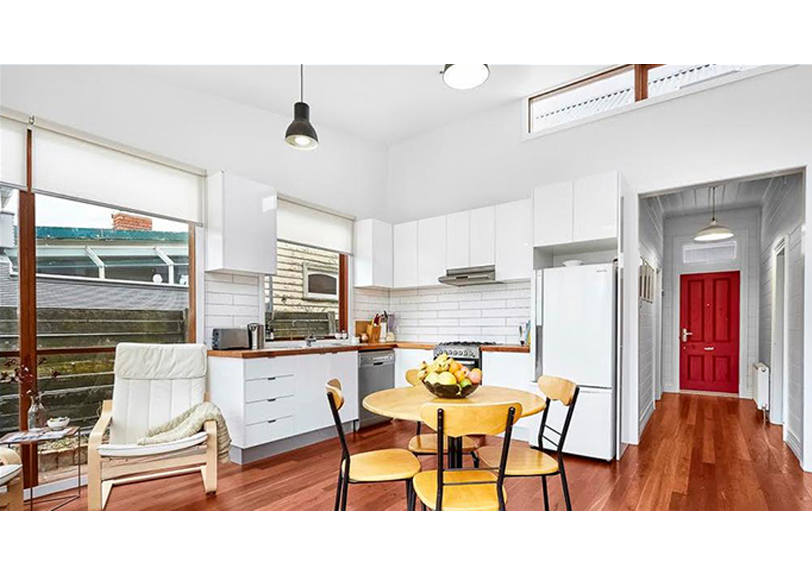 Little Berry renovation extension kitchen interior view_Here Studio.jpg