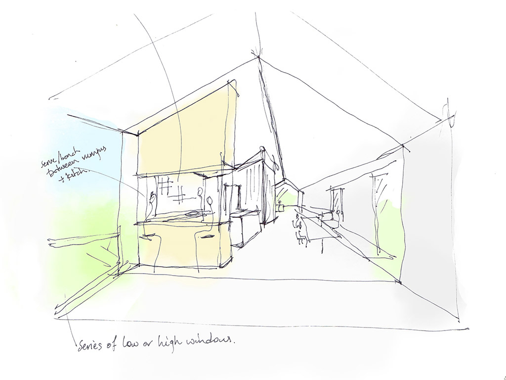 Kitchen Concept sketch