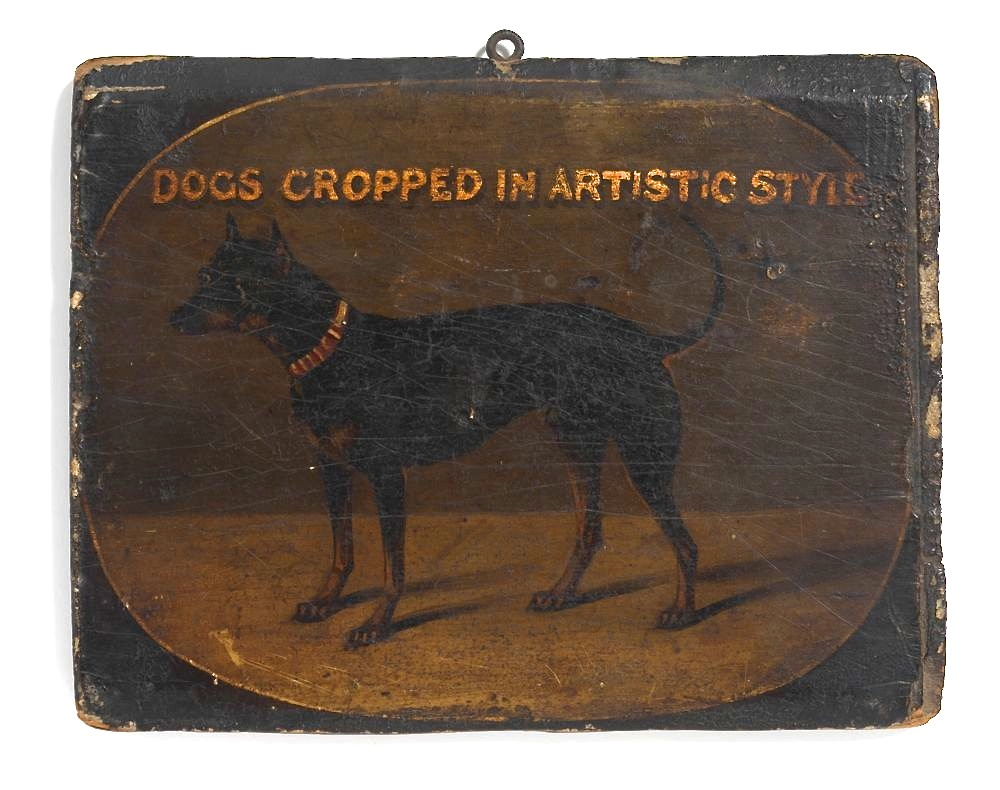 Victorian Trade Sign