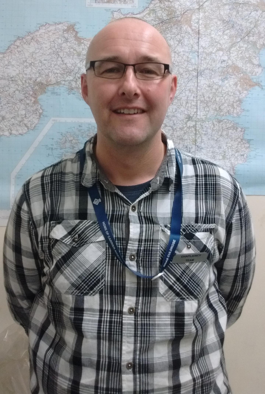 Tom Lloyd New Aggie Weston's Pastoral Worker at RNAS Culdrose