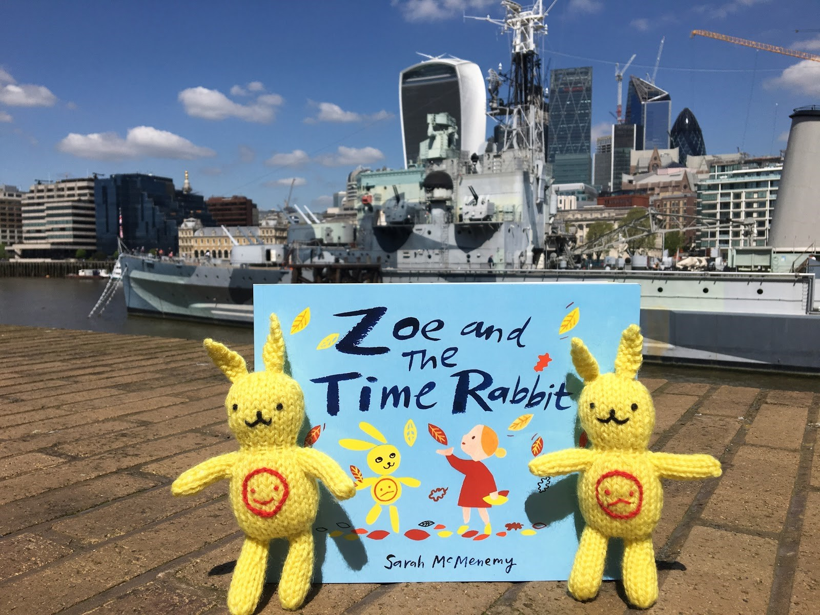 Zoe and the Time Rabbit by Sarah McMenemy