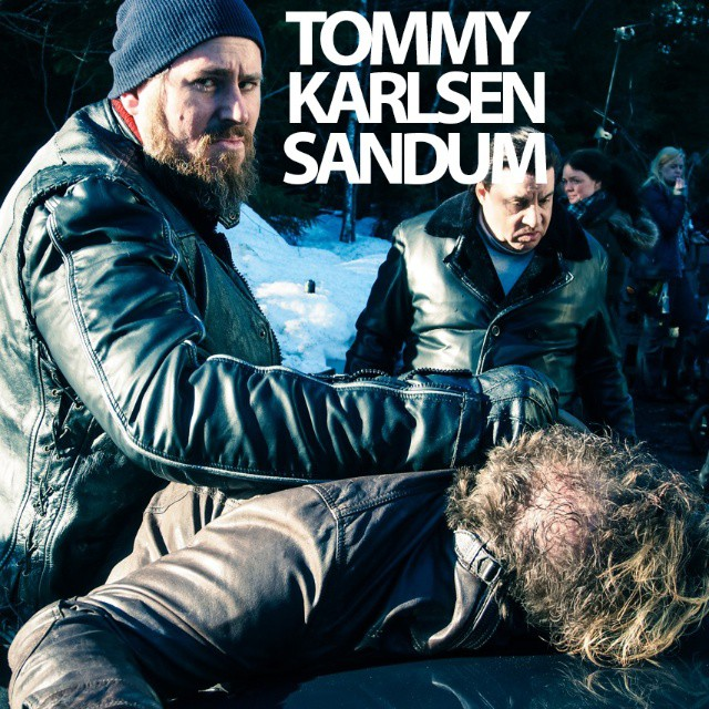 Norwegian actor Tommy Karlsen Sandum